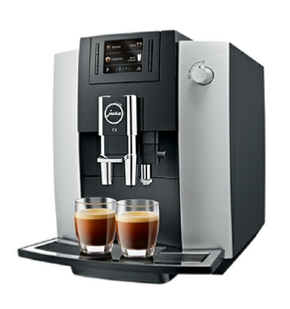 Jura E6 Cutman & Hawk coffee